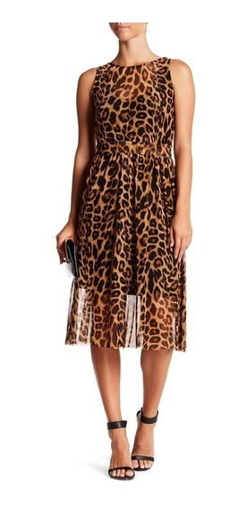 Vestido Animal Print L De Superfoxxx Casual Juvenil