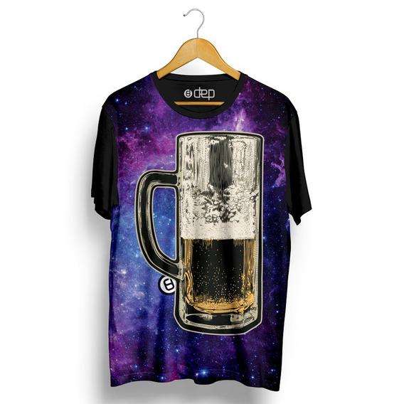 Camiseta Dep Bebida Galáctica Roxa