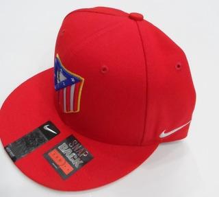 Snapback Atlético Madrid 2016-2017 Rojo Nike Nuevo Original