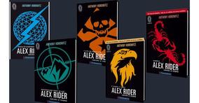 Coleção Alex Rider Contra O Tempo