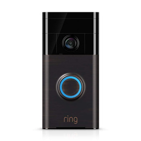Campainha Vídeo Audio Wireless Ring Doorbell Bronze Sem Juro