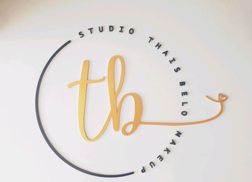 Sua Logo Personalizada Em Alto Relevo 3d - Aplique De Parede