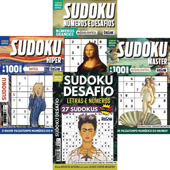 Kit Sudoku Mai/19 4 Revistas