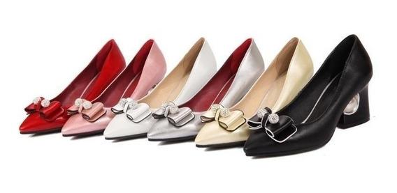 Sapato Feminino Morazora 39125 Importado Frete Grátis