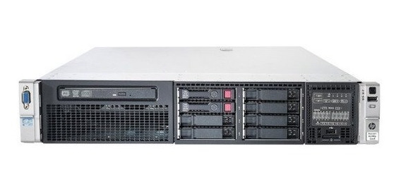 Servidor Hp Proliant Dl380 G8 - 600gb - 16gb