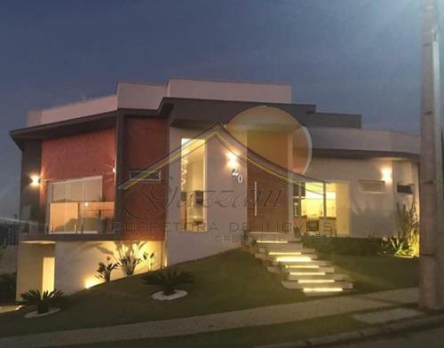 Imagem 1 de 11 de Casa Em Condomínio Para Venda Em Bragança Paulista, Jardim São José, 4 Vagas - G0836_2-1178643
