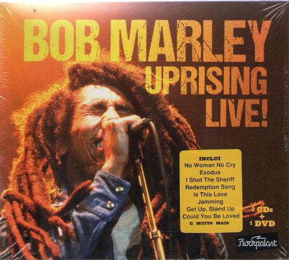 Cds Bob Marley Uprising Live - 2 Cds+dvd Lacrados