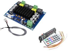 Potência Amplificador Chip Original Digital 240wrms+usb/blue