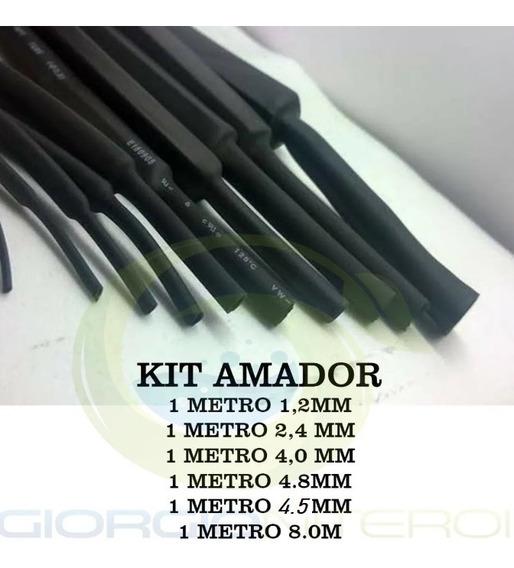 Kit Amador Espaguete Tubo Termo Retrátil Termotubo Macarrão
