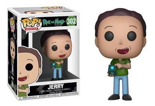Jerry Funko Pop 302 Figura Muñeco Rick & Morty
