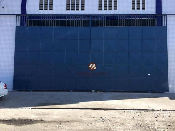 Galpão Para Alugar, 704 M² Por R$ 6.500,00/mês - Aerolândia - Fortaleza/ce - Ga0002