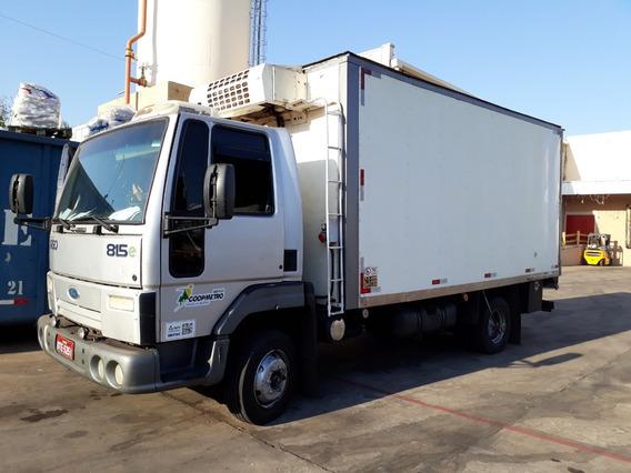 Ford Cargo 815-2009-bau Refrigerado-frigor-agregado-spote