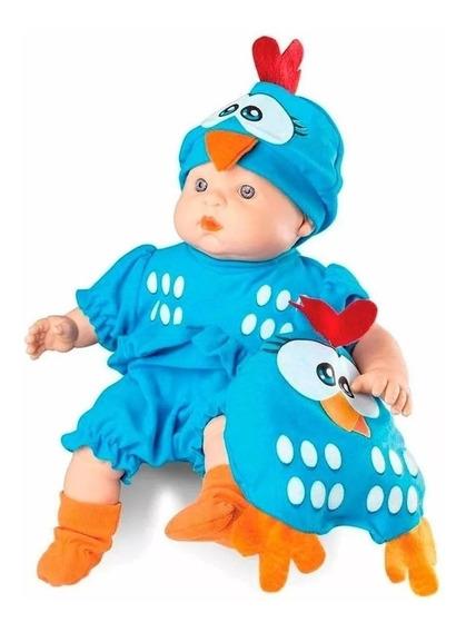 Boneca Meu Bebe - Galinha Pintadinha 34cm - Roma Brinquedos
