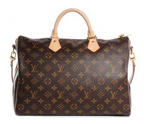Speedy 35 Louis Vuitton Couro Legítimo Premium C/código