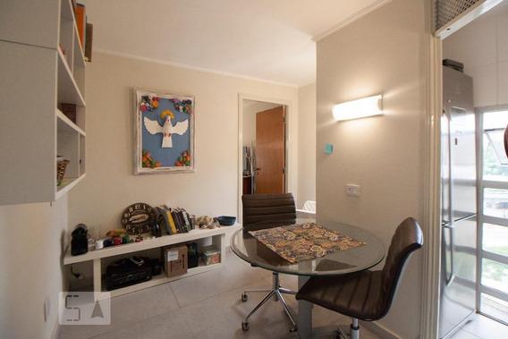 Apartamento No 4º Andar Mobiliado Com 1 Dormitório E 1 Garagem - Id: 892982484 - 282484