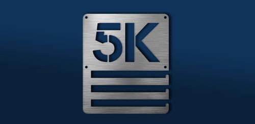 Imagen 1 de 6 de Medallero 5k Porta Medallas Personalizado Gratis