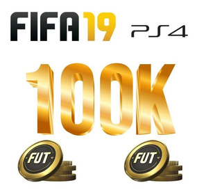 Coins Fifa 19 Ps4 100k Ultimate Team