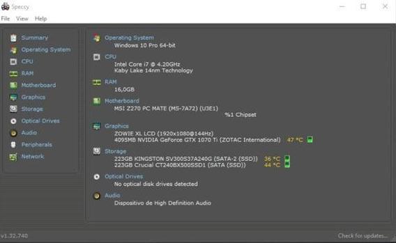Computador Gamer I7 E 1070ti Com Monitor 144hz Benq