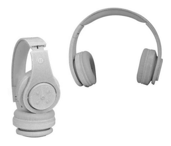 Fone De Ouvido Bluetooth Sd Mp3 Fm Knup Branco Kp368