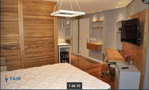 Apartamento Locação Vila Nova Conceição 1 Dorm 1 Vaga 32m - Ap4671