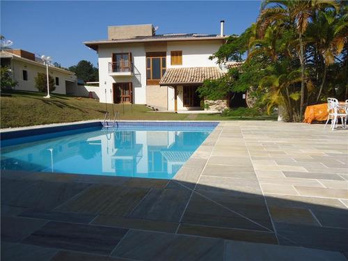 Casa Com 4 Dormitórios À Venda, 521 M² Por R$ 3.400.000,00 - Condomínio Marambaia - Vinhedo/sp - Ca0235