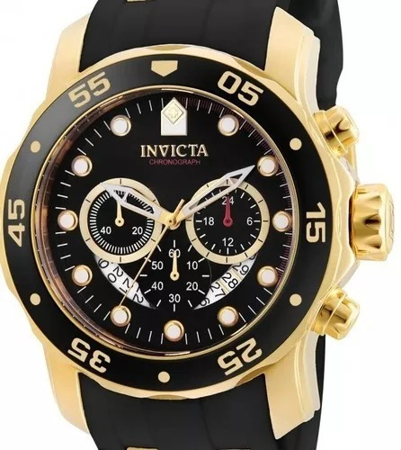 Relógio Invicta Pro Diver 6981 Dourado Masculino