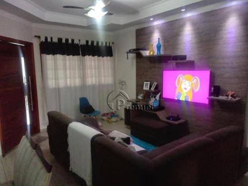 Imagem 1 de 16 de Casa Com 2 Dormitórios À Venda, 100 M² Por R$ 350.000,00 - Jardim Morada Do Sol - Indaiatuba/sp - Ca1935