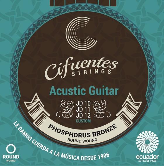 Cuerdas Guitarra Electroacústica Semipro Cifuentes Strings