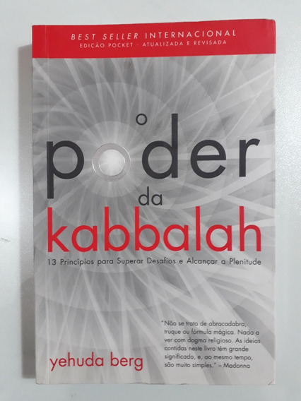 Livro O Poder Da Kabbalah - Yehuda Berg