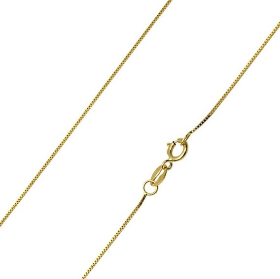 Cordao Veneziana Ouro 1,0 Gramas 40 Cm 18k