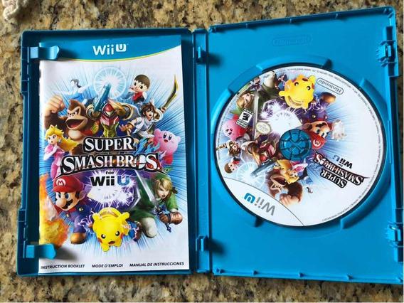 Jogo Super Smash Bros Wii U Original