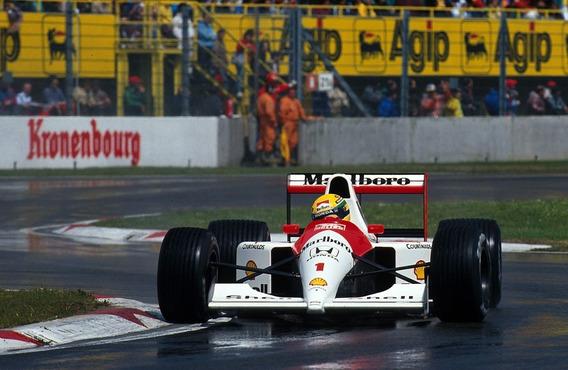 Posters Ayrton Senna F1 Formula 1 Mclaren Honda 1991 45x30