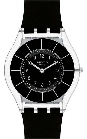 Relógio Swatch Black Classiness Feminino Sfk361