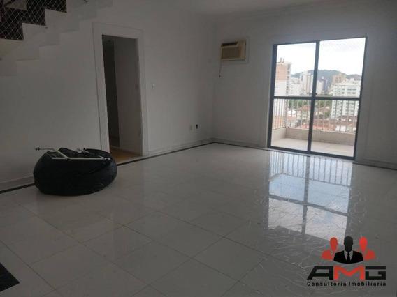Cobertura Com 3 Dormitórios - Aparecida - Santos/sp - Co0269