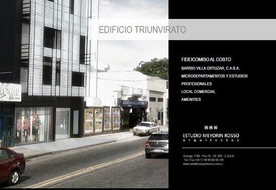 Departamento En Construcción Villa Ortúzar- Anticipo +cuotas