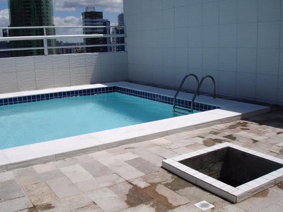 Apartamento Em Graças, Recife/pe De 80m² 3 Quartos Para Locação R$ 830,00/mes - Ap374747