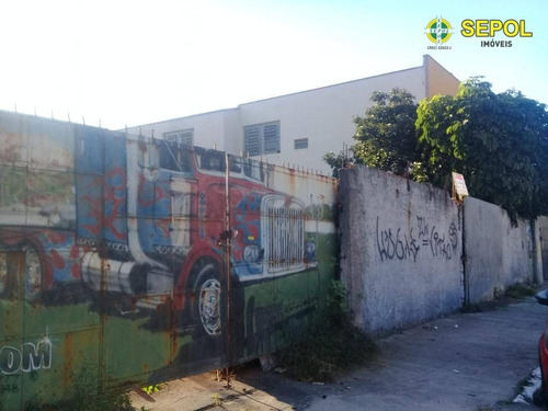 Terreno À Venda, 1000 M² Por R$ 2.000.000,00 - Vila Antonieta - São Paulo/sp - Te0095