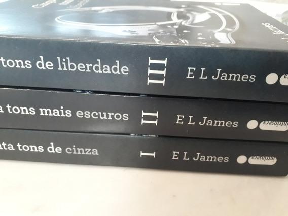 Livros - Trilogia Cinquenta Tons (3livros) - E L James