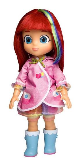 Boneca Rainbow Ruby C/ Capa 1842 - Baby Brink Lançamento!!