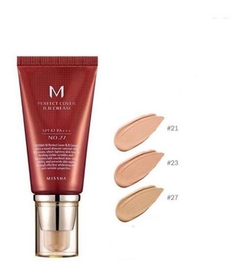 Perfect Bb Cream 50ml Missha Num 21, 23 E 27 Original