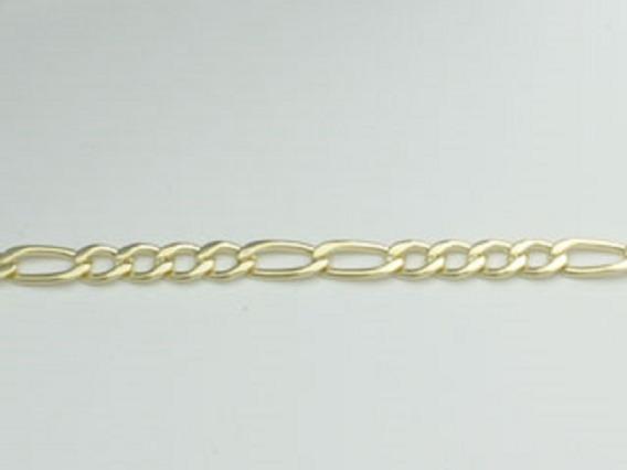 Pulseira Masculina Rommanel 550202 Ouro Grumet 4x2 + Nf-e