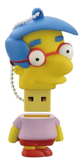 Pendrive Simpsons Milhouse 8gb Usb Para Arquivos Multilaser