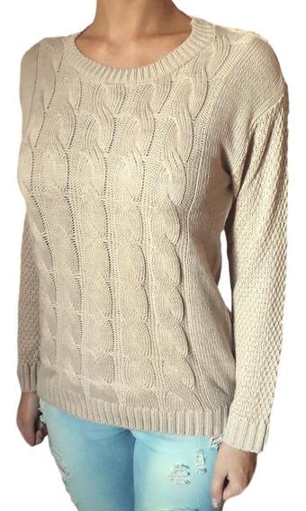 Sweater De Lana Pullover Mujer