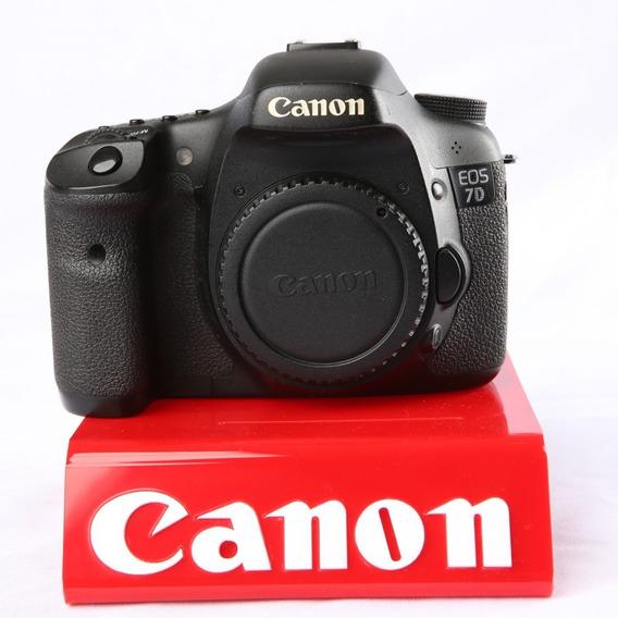 Câmera Dslr Canon 7d Corpo