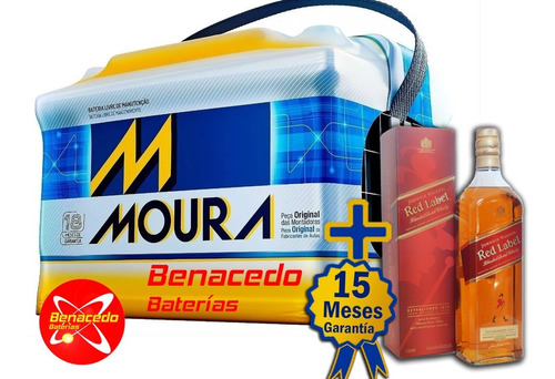 Bateria Moura 140 Amp 15 Meses.envió Gratis.wisky Obsequio