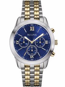 Relógio Bulova Social Masculino - Wb22346a