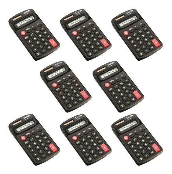 Calculadora De Bolso 8 Dígitos Pequena Elgin