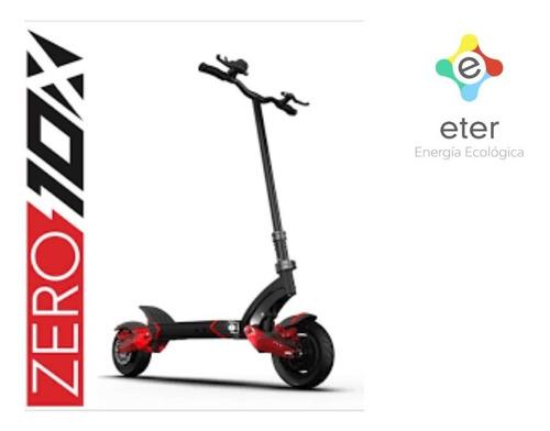 Monopatín Zero 10x Scooter Eléctrico Doble Motor Pilar