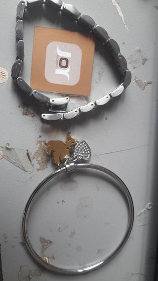 Braceletes De Aço Conjunto