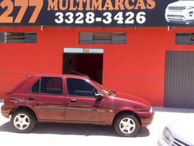 Ford Fiesta 1.4 Clx 1997 Bordo Gasolina
